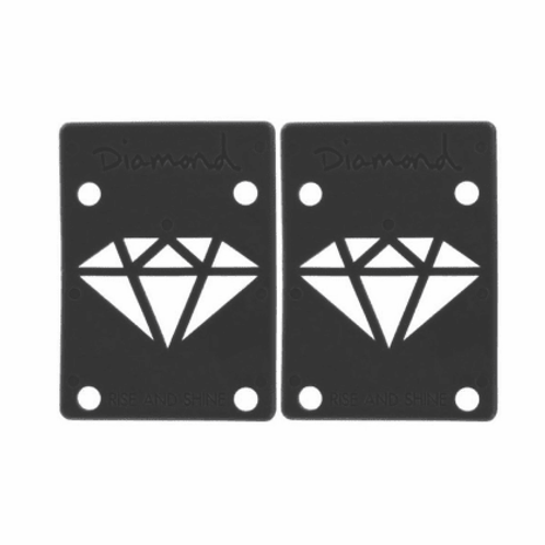 Diamond Supply Co. Black Riser Pads