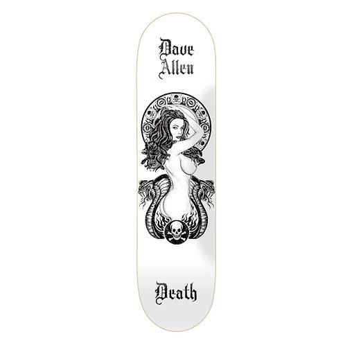 """Death Skateboards Dave Allen Medusa Skateboard Deck 8.5"""""""