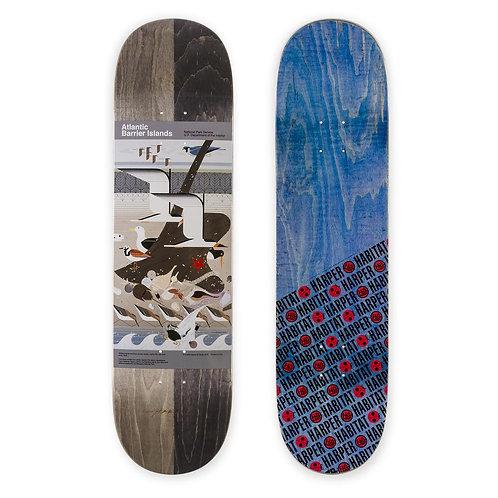"Habitat Skateboards Barrier Island Skateboard Deck 8.25"""