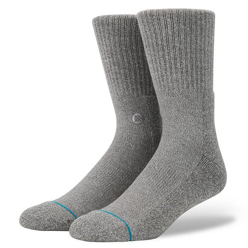 Stance Socks Icon Grey
