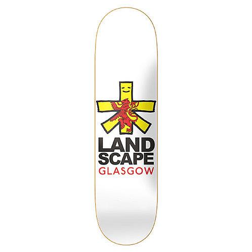 """Landscape Skateboards """"Cities"""" Glasgow Skateboard Deck 8.25"""""""