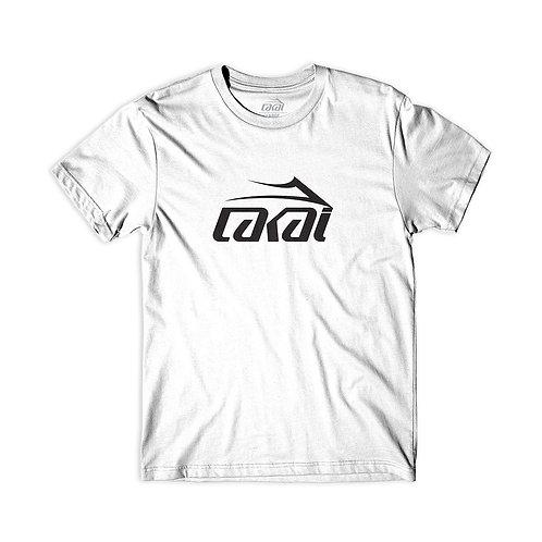 Lakai Skate Shoes Basic T-Shirt White