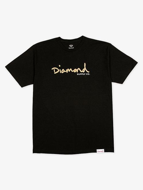 Diamond Supply Co. OG Script T-Shirt Black