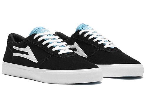 Lakai Skate Shoes Manchester Black/White Suede