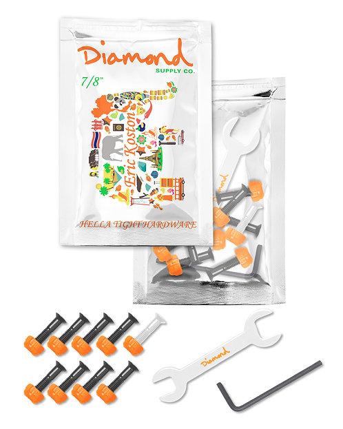 "Diamond Supply Co. Eric Koston 7/8"" Skateboard Hardware/Bolts"