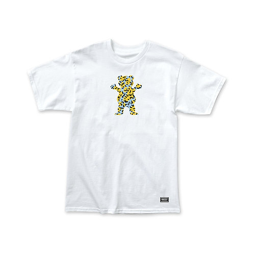 Grizzly OG Bear Rewind T-Shirt - White