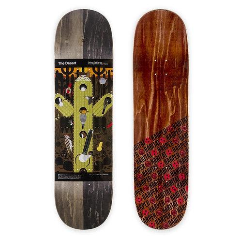 """Habitat Skateboards The Desert Skateboard Deck 8.5"""""""