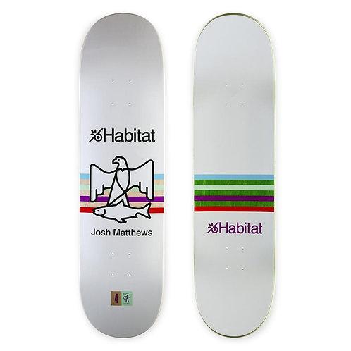 "Habitat Skateboards Matthews Quartus Series Skateboard Deck 8.375"""