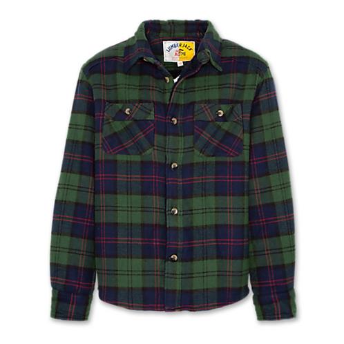 AO76 - Teddyshirt grün/blau