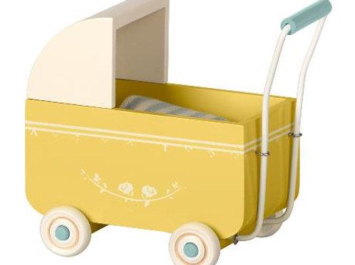 Maileg - Kinderwagen MY gelb