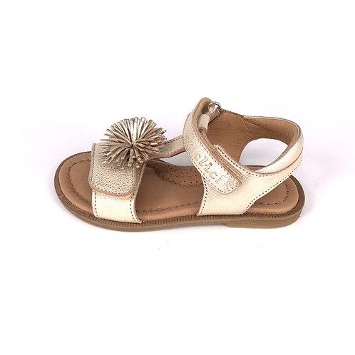 Clic! Sandale - glitzerndes Gold