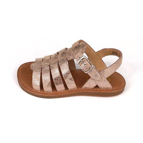 POM D'API - Sandale nude