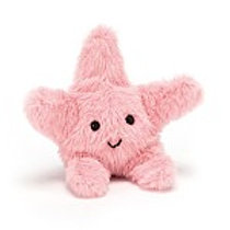 Jellycat fluffy starfish - baby