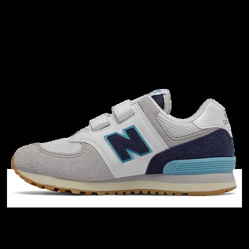 New Balance Sneaker 574 - weiß/blau