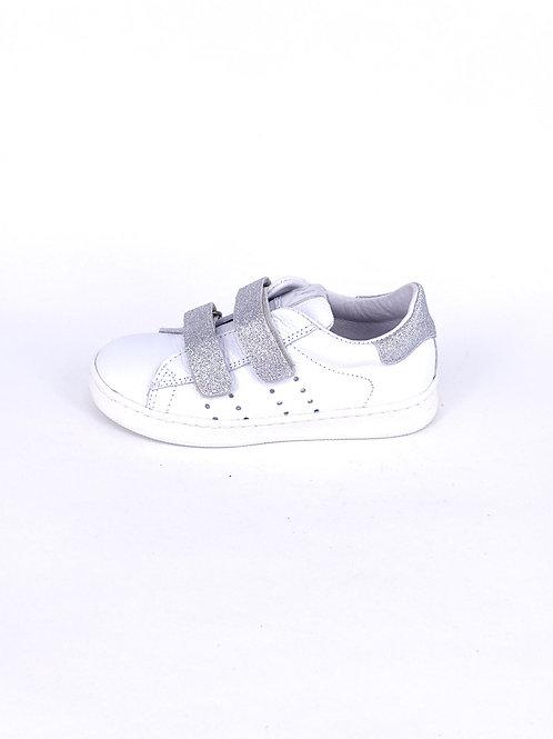 Clic Sneaker weiß mit Glitzerdetail