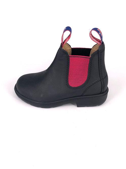 BLUE HEELER Chelsea Boots Wombat - dunkelbraun/berry