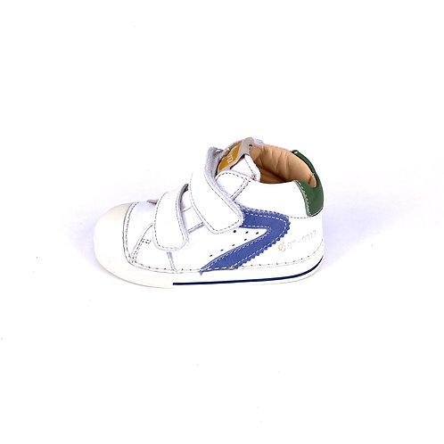 Ocra - Sneaker weiß/grün/blau