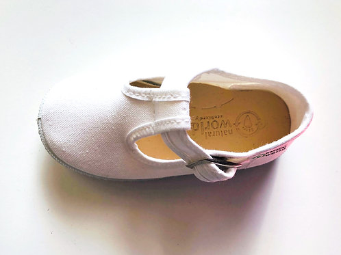 Natural World - Baby T-Sandale - weiß