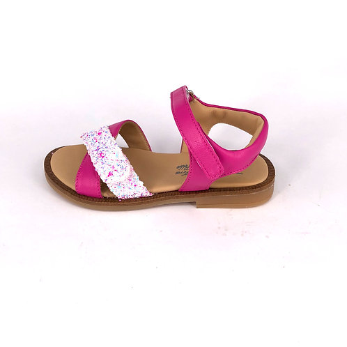 jff - Sandale pink Glitzer