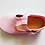 Thumbnail: Natural World - Baby T-Sandale - rosa