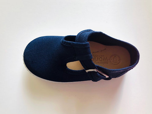 Natural World - Baby T-Sandale - navy