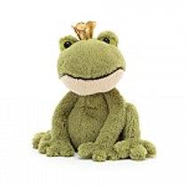 Jellycat Felipe Frog Prince - klein