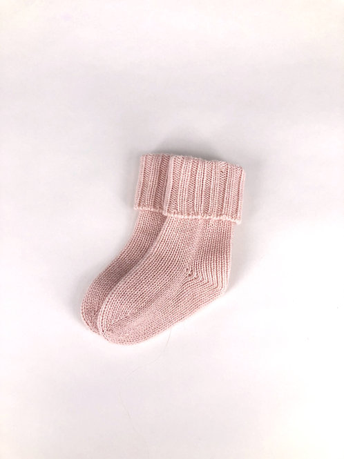 Oscar et Valentine - Kaschmir Socken rosa