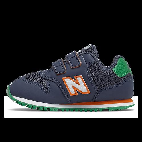 New Balance Sneaker 500 - navy/grün/orange