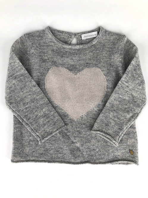Delicate Love - Sweater mit Herz