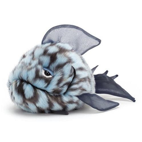 Jellycat - Grumpy Blue Fish