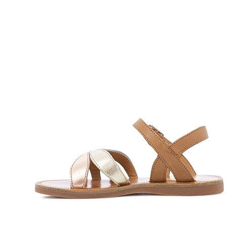 POM D'API - Sandale metallic