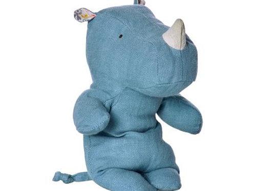 Maileg - Rhino Safari Friends - blau