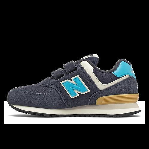 New Balance Sneaker 574 - blau/türkis