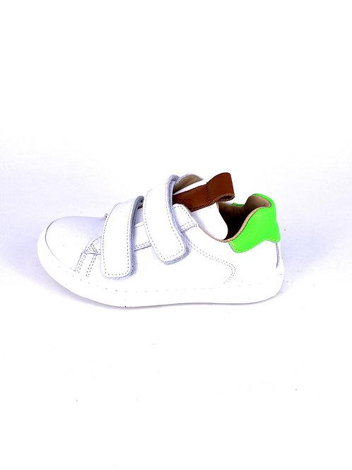 Jff - Sneaker weiß/neongrün
