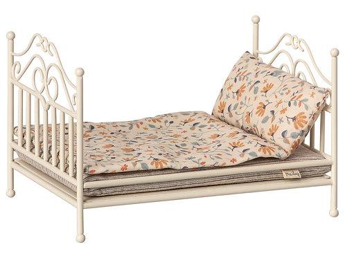 Maileg - Vintage Bed Micro in beige