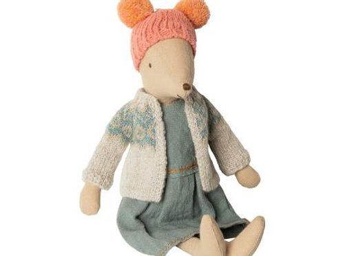 Maileg - Winter Mouse Medium - Girl