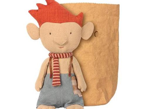 Maileg - Troll mit rotem Schal