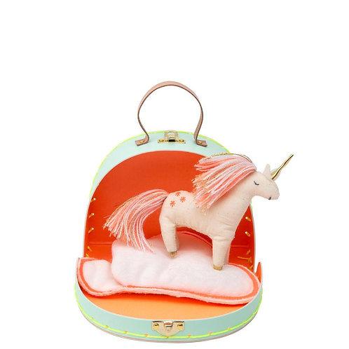 Meri Meri - Koffer mit Einhorn