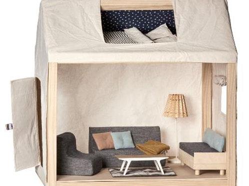 Maileg - Haus mit Bettzeug und Möbeln - Medium