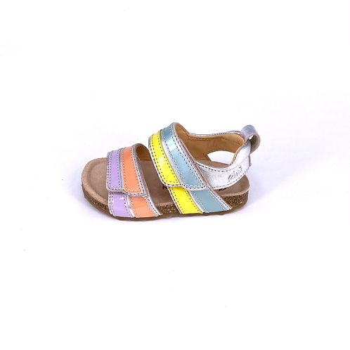 Ocra - Sandale Lackleder multi