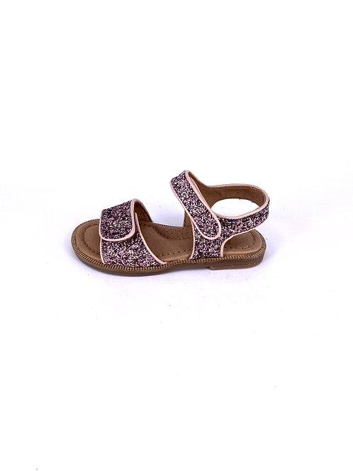 Clic! - Sandale mit Glitzer - Rose/Rosa