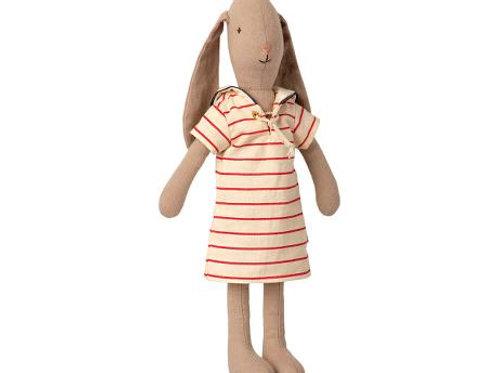 Maileg - Bunny in gestreiftem Kleid