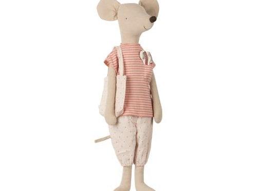 Maileg - Mega Mouse im Schlafanzug