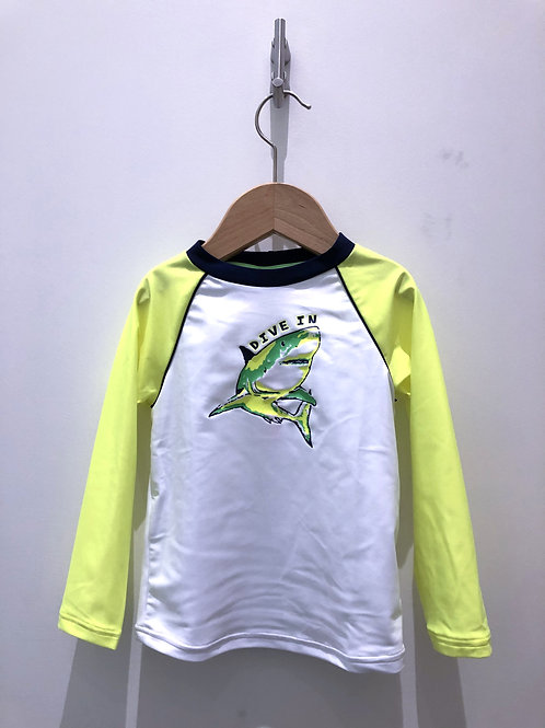 Sunuva - Surfshirt long sleeve mit Hai