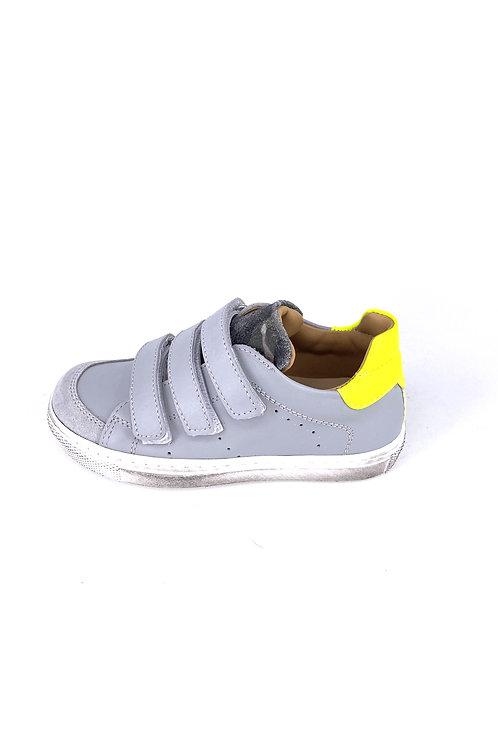 Jff - Sneaker grau/neongelb