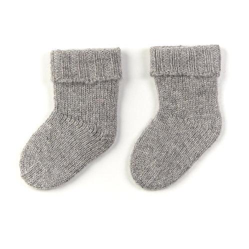 Oscar et Valentine - Kaschmir Socken grau