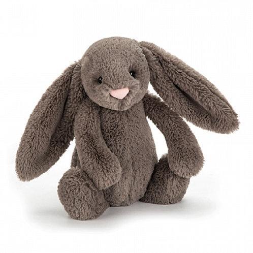 Jellycat bashful bunny dunkelbraun - medium