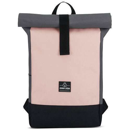 Johnny Urban - Rolltop Rucksack Ryan - rosa