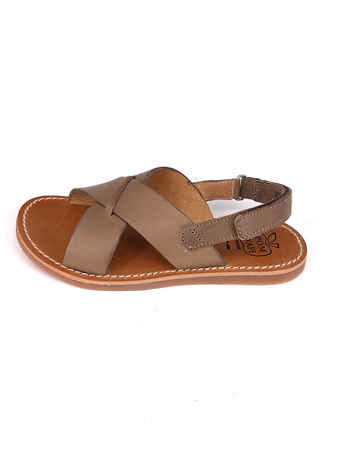 POM D'API - Sandale braun