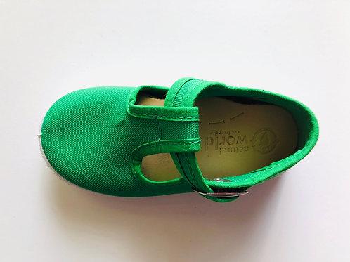 Natural World - Baby T-Sandale - grün